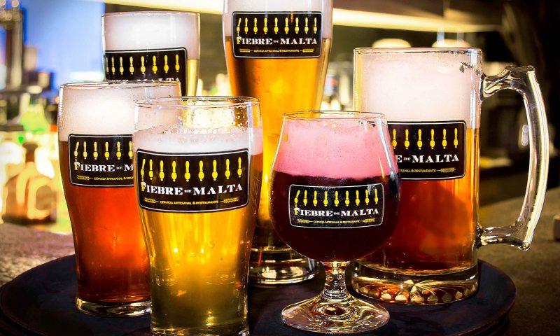 Cervezas fiebre de malta