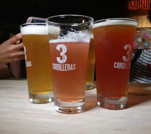 Cerveza tres cordilleras