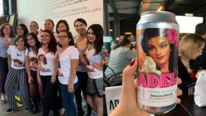Adela cerveza hecha 100% por mujeres