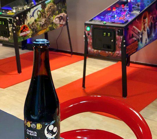 Pinball y Cerveza