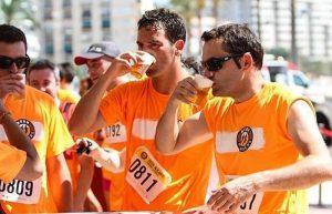 Cerveza artesanal y el deporte