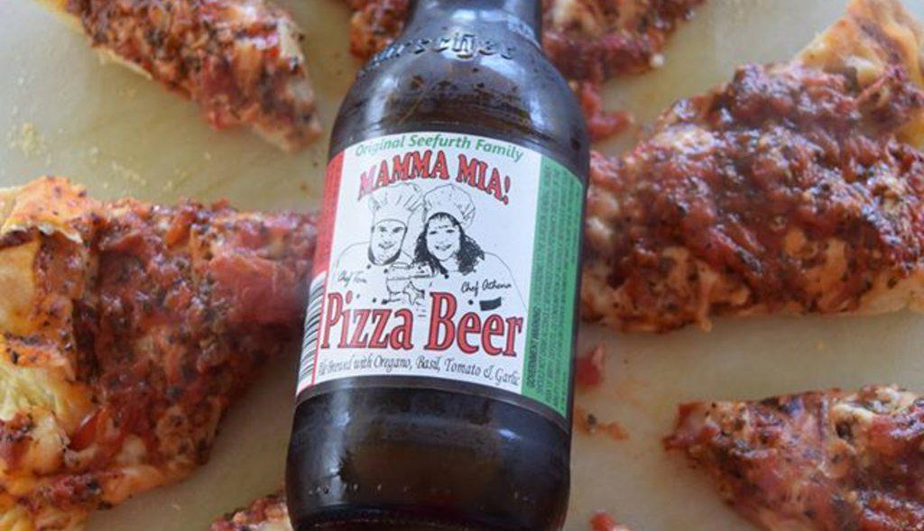 Cerveza sabor a pizza