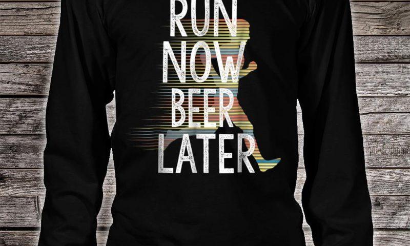 correr y cerveza